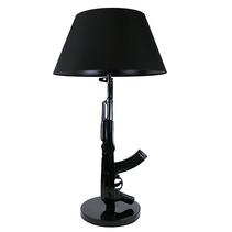 Table Lamp Floor Lamp AK-47 Gun Lamp Black