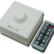 LED Dimmer with Remote Control DC 12 - 24V