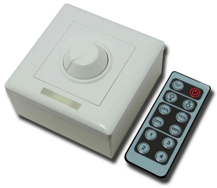 Led Dimmer With Remote Control Dc 12 24v