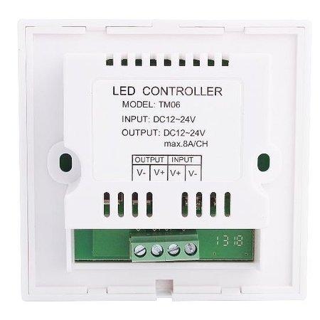Geeek LED Touch Panel Dimmer voor Enkel kleur LED Strip
