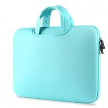 Airbag MacBook 2-in-1 sleeve / tas voor Macbook 12 inch / Macbook Air 11 inch Mint