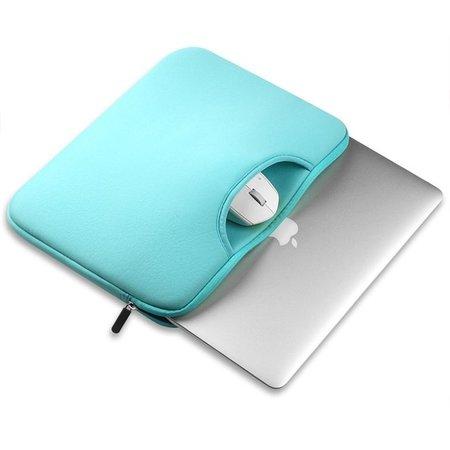 Airbag MacBook 2-in-1 Hülle / Tasche für MacBook 12 Zoll / MacBook Air 11 Zoll Minzgrün