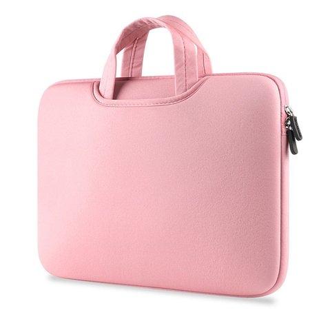 Airbag MacBook 2-in-1 Hülle / Tasche für MacBook 12 Zoll / MacBook Air 11 Zoll Rosa