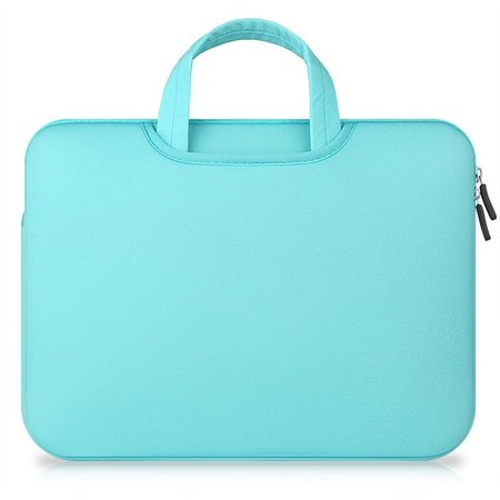 Airbag MacBook 2-in-1 sleeve / tas voor Macbook  Pro 15 inch - Mint