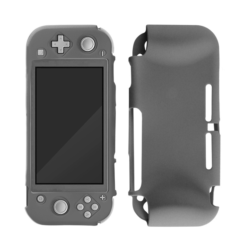 Silicone Case Cover for Nintendo Switch Lite - Beschermhoes Grijs