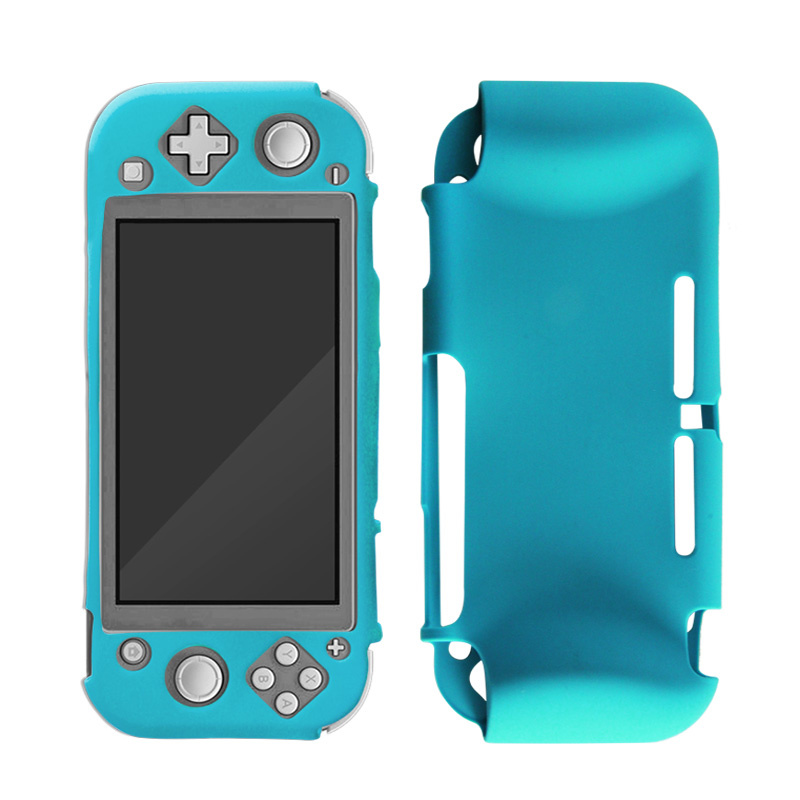 Silicone Case Cover for Nintendo Switch Lite - Beschermhoes Blauw