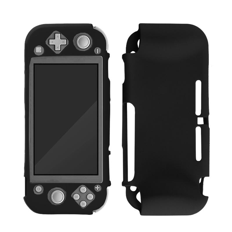 Silicone Case Cover for Nintendo Switch Lite - Beschermhoes Zwart