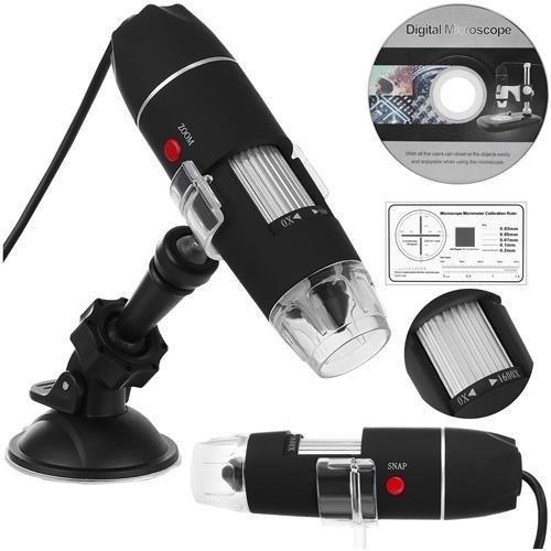 Digitale Microscoop Camera - USB 3.0 1600x digital zoom