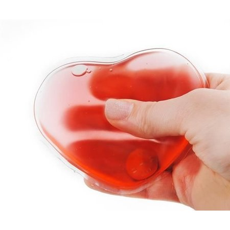 Heart Hand Warmer - Reusable Gel Hand Warmer - Heat Pads - Hot Pack Reusable