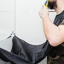 Beard Shaving catcher - Black