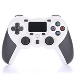 Geeek Draadloze Bluetooth Controller voor PS4 - Wit