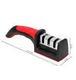 Hochwertiger Profi-Messerschärfer - Messerschärfer 3-in-1