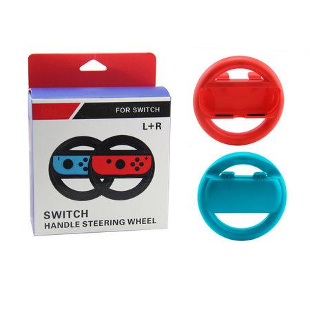 Nintendo Switch - Joy-con Stuurwiel Set Rood & Blauw