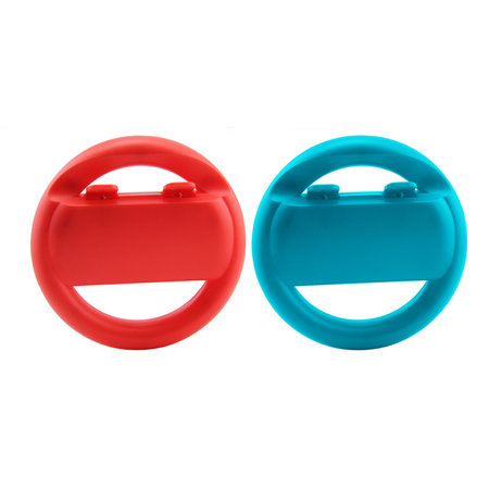 Nintendo Switch - Joy-con Steering Wheel Set Red & Blue