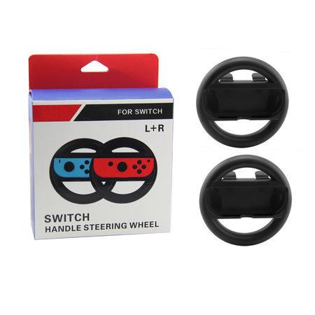 Nintendo Switch - Joy-con Steering Wheel Set Black