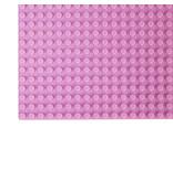 Geeek Grote Grondplaat Bouwplaat voor Lego Bouwstenen Licht Roze 50 x 50