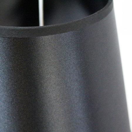 Geeek 9mm Pistole Tischlampe Licht schwarz