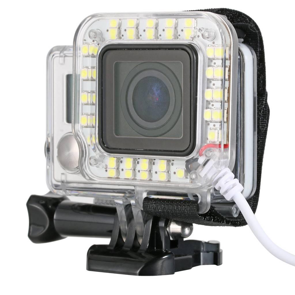 GoPro Led Licht Flitser Ring Verlichting voor GoPro
