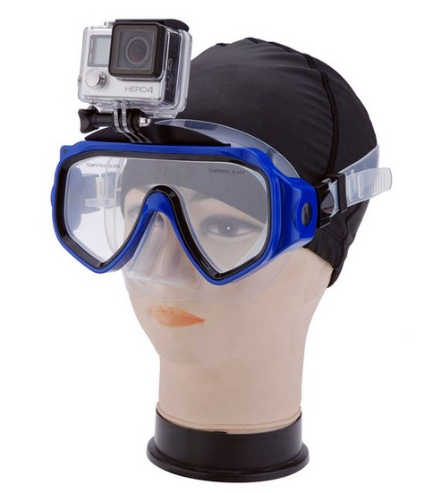 Met de gopro hero duikbril maak je haarscherpe beelden tijdens het duiken of zwemmen zonder je gopro hero ...