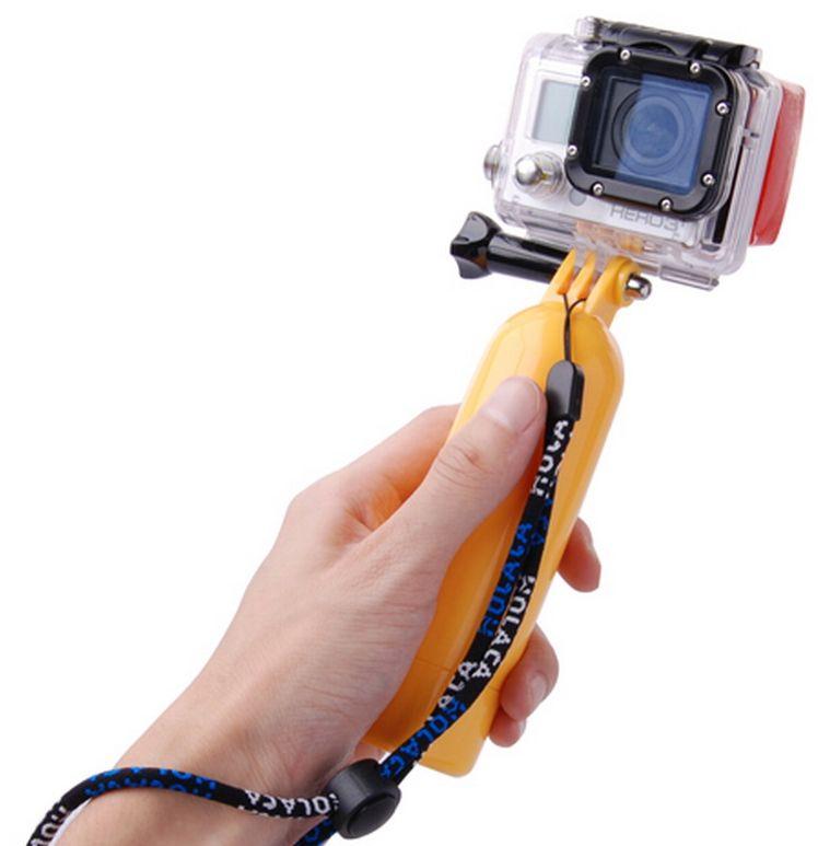 De bobber gopro hero drijvende handgrip is een musthave bij het schieten van beelden met je gopro in of rond ...