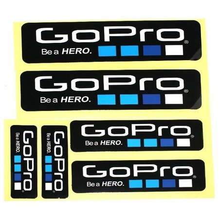 Geeek Be a Hero Stickers 6 pack voor GoPro