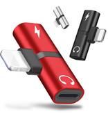 Iphone Adapter 2-in-1 Splitter - Audio - Charging