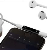 Iphone Adapter 2-in-1 Splitter - Audio - Laden