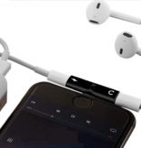 Iphone Adapter 2-in-1 Splitter - Audio - Opladen