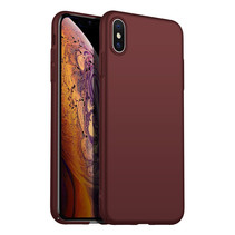 Back Case Cover iPhone X / Xs Case Burgundy Red