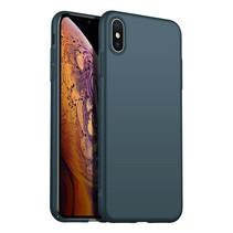 Rückseite Hülle Abdeckung iPhone X / Xs Hülle Green Forest