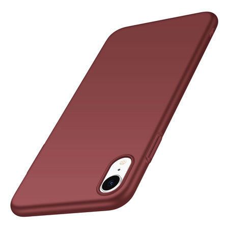 Geeek Back Case Cover iPhone Xr Case Burgundy Red