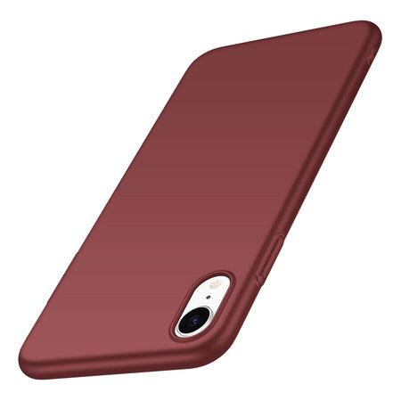 Geeek Back Case Cover iPhone Xr Hoesje Burgundy