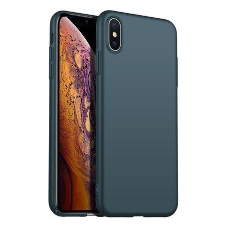 Geeek Rückseite Hülle Abdeckung iPhone Xs Max Hülle Green Forest