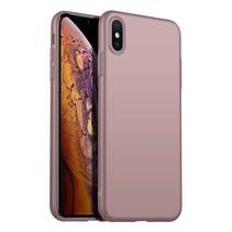 Rückseite Hülle Abdeckung iPhone X / Xs Hülle Pink Powder