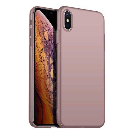 Geeek Back Case Cover iPhone X / Xs Case Burgundy Pink Powder