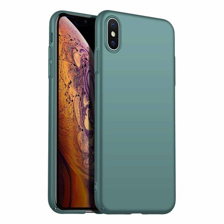 Geeek Back Case Cover iPhone Xs Max Case Burgundy Grey Blue