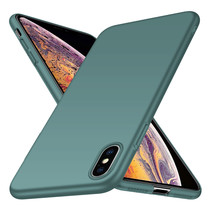 Back Case Cover iPhone Xs Max Case Grey Blue