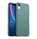 Geeek Rückseite Hülle Abdeckung iPhone Xr Hülle Grey Blue