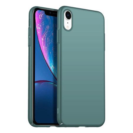 Geeek Back Case Cover iPhone Xr Hoesje Grey Blue