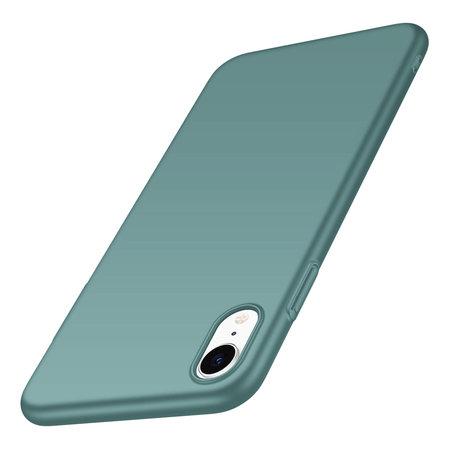 Geeek Back Case Cover iPhone Xr Case Grey Blue