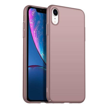 Geeek Rückseite Hülle Abdeckung iPhone Xr Hülle Powder Pink