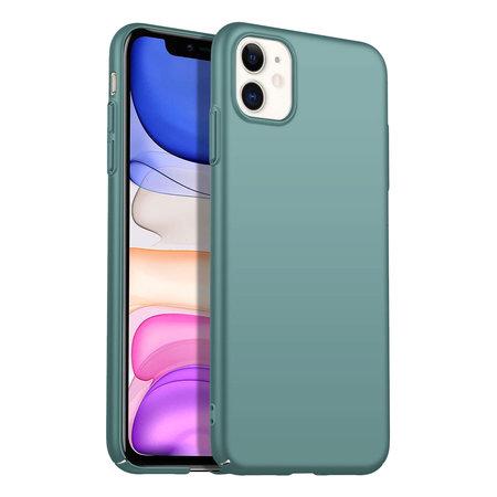 Geeek Rückseite Hülle Abdeckung iPhone 11 Hülle Grey Blue