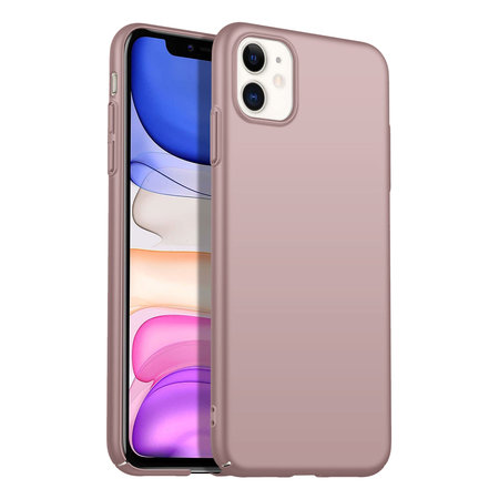 Geeek Rückseite Hülle Abdeckung iPhone 11 Hülle Powder Pink