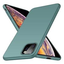 Rückseite Hülle Abdeckung iPhone 11 Pro Max Hülle Grey Blue