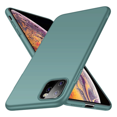Geeek Back Case Cover iPhone 11 Pro Max Hoesje Grey Blue