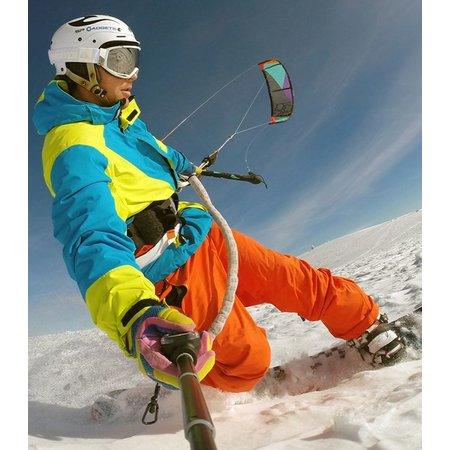 Geeek Extra langer Selfie Stick mit Fernhalter für GoPro