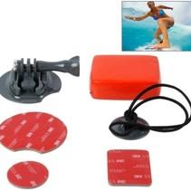 Surfboard Houder Set voor GoPro