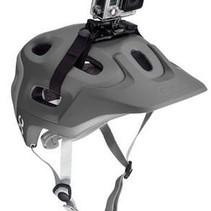 Schlaufenhalterung für GoPro Helme mit Luftschlitze