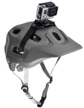 Bevestig je gopro eenvoudig aan je fiets, ski, kajak of soortgelijke sporthelm met deze vented helm houder. ...