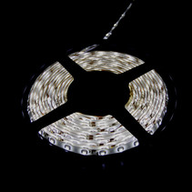 Led Strip Set 5m Cold White 3528 LEDS Color - with adapter